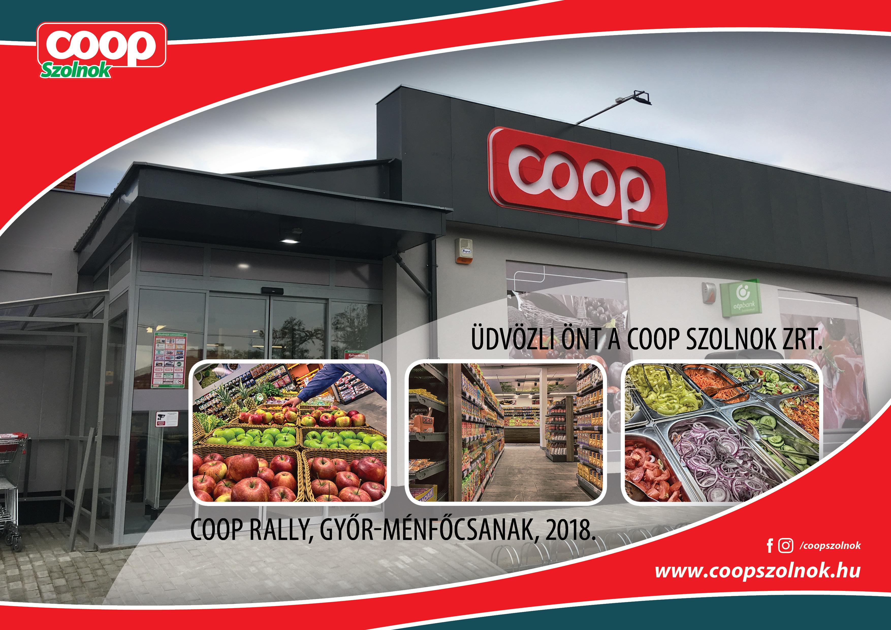 Coop Rally - COOP Szolnok