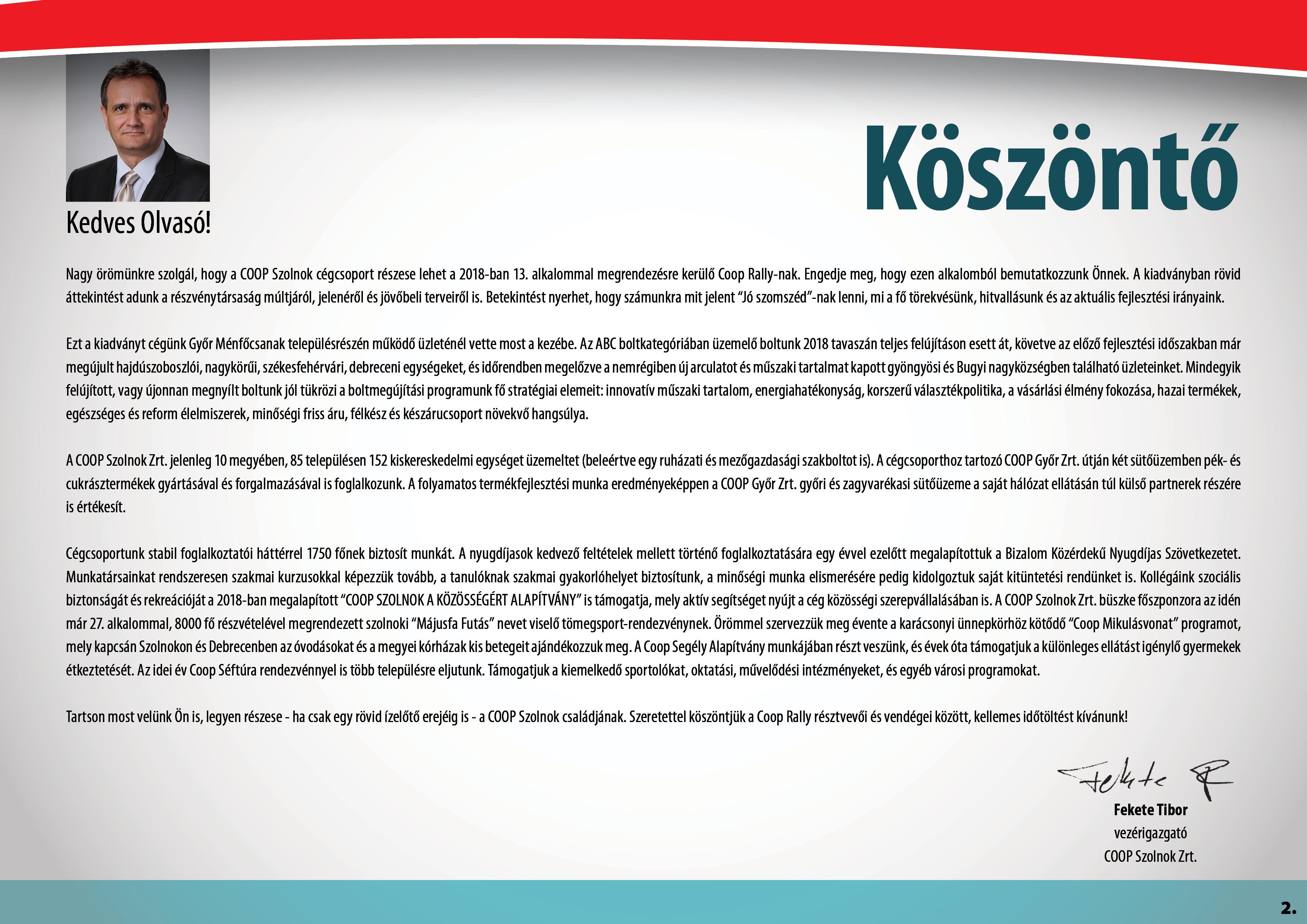 Coop Rally - COOP Szolnok3